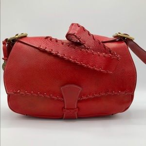 Dooney & Bourke Alto Italia style red shoulder bag